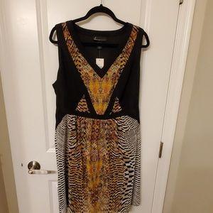 Brand New Lane Bryant bobo chic dress